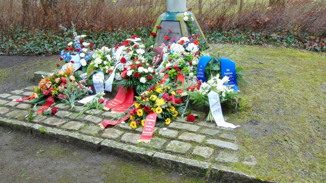Foto Gedenkort Opfer des Nationalsozialismus (Foto: SV Marzahn-Hellersdorf)