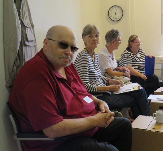 Foto: Teilnehmende am Workshop Wissen sichern