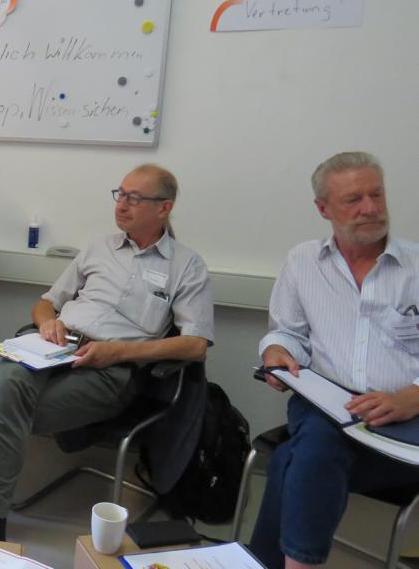 Foto: Seniorenvertreter*innen im Austausch